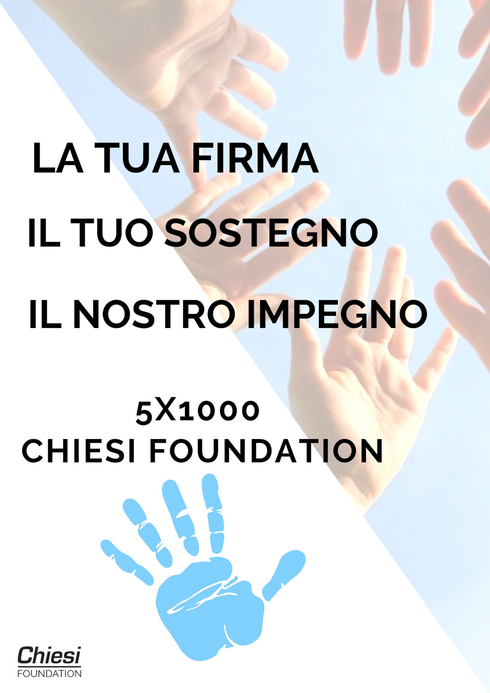 Il 5x1000 di Chiesi Foundation