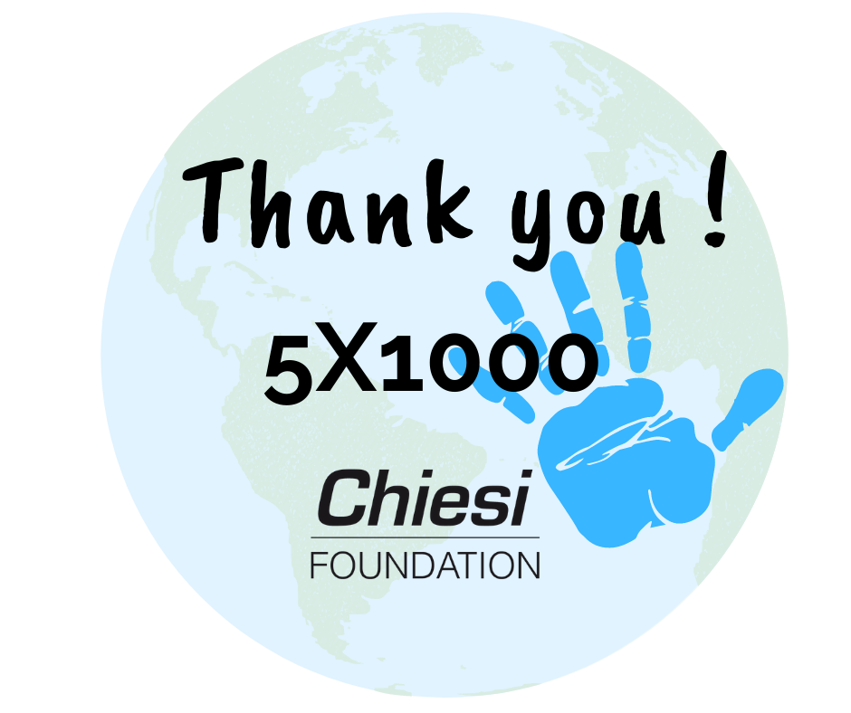 5x1000 to the Chiesi Foundation: Thank You!