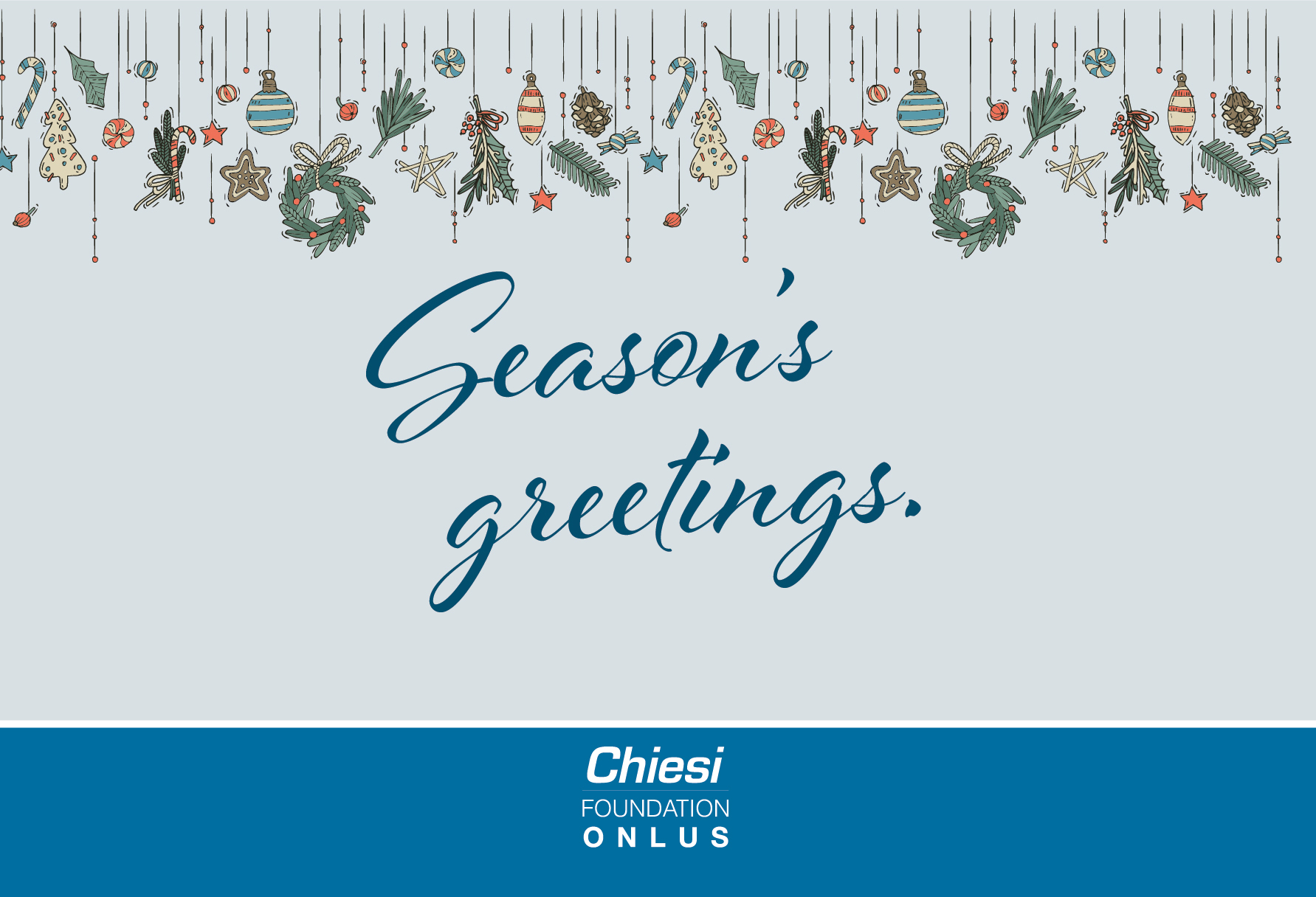 Happy Holidays from the Chiesi Foundation