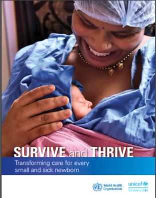 "Il Modello NEST all'interno del Report dell'OMS ""Survive and Thrive"""