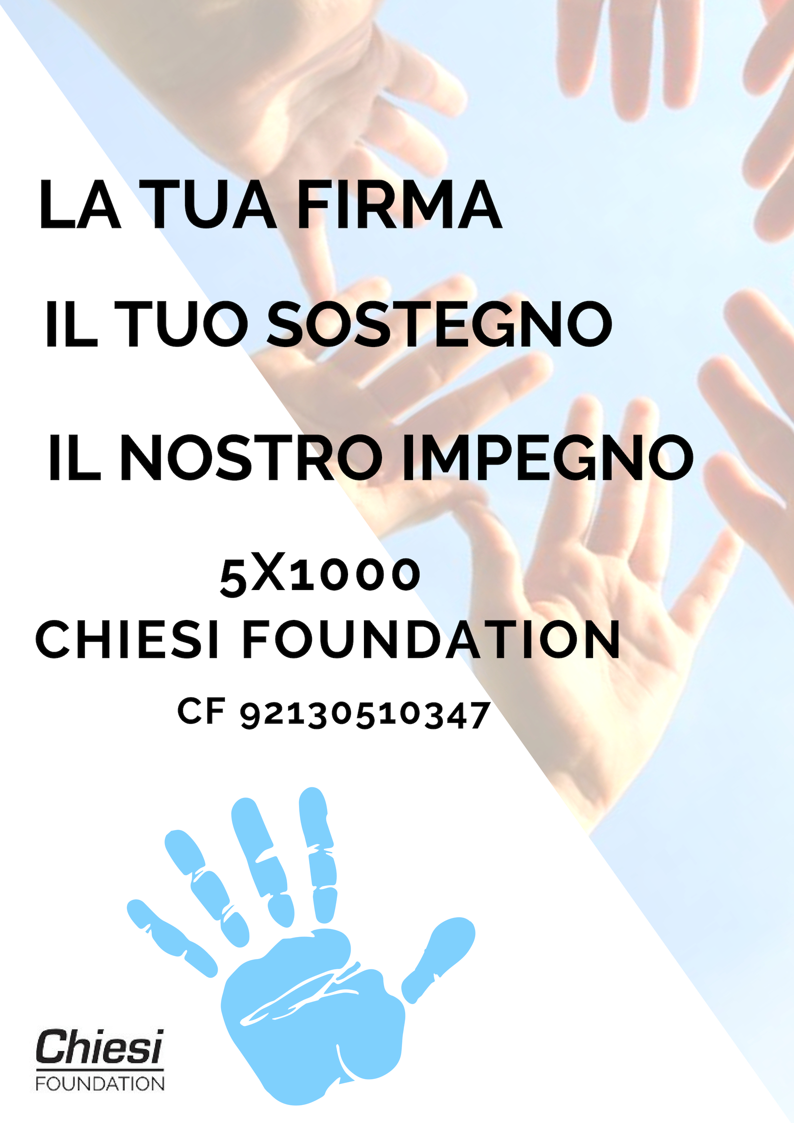 5 x 1000 a Chiesi Foundation