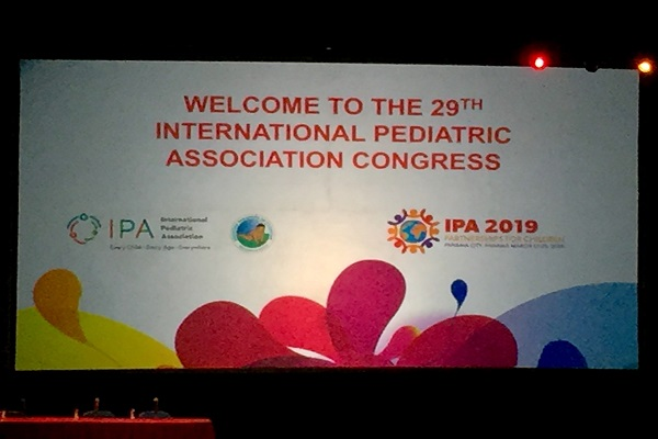 The Chiesi Foundation at the International Pediatric Association congress